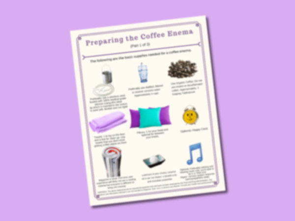 Coffee Enema Mini Handbook